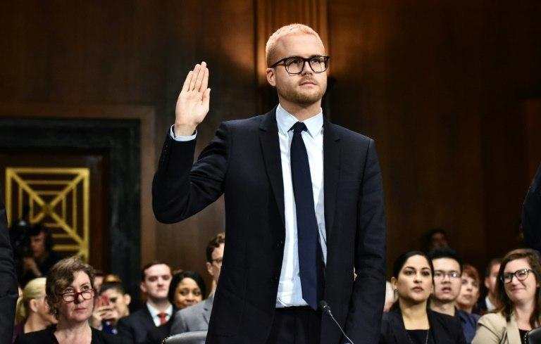 Christopher Wylie blew the whistle on Cambridge Analytica and its abuse of Facebook's data privacy provisions (AFP)