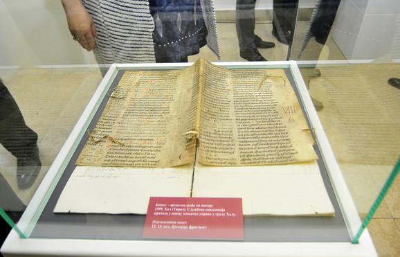 Original: Pretpostavlja se da je nastao u 12. ili 13. veku