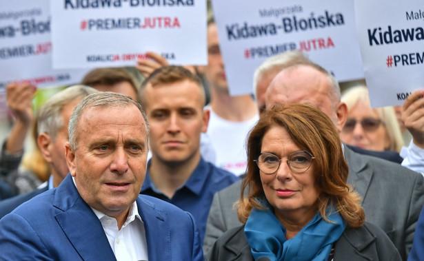 Grzegorz Schetyna z Małgorzatą Kidawą-Błońską