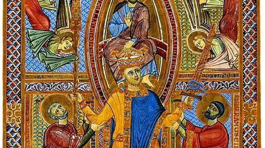 Sakramentariusz króla Henryka II - domena publiczna