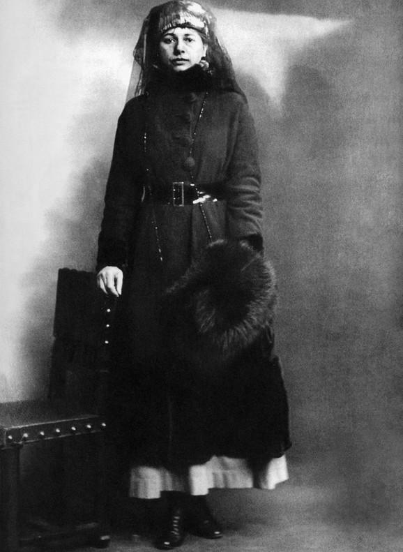 Mata Hari na dan hapšenja, 13. 2. 1917.