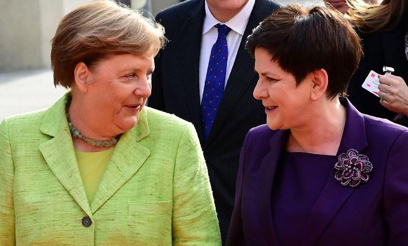 Szydło spotkała się z Merkel