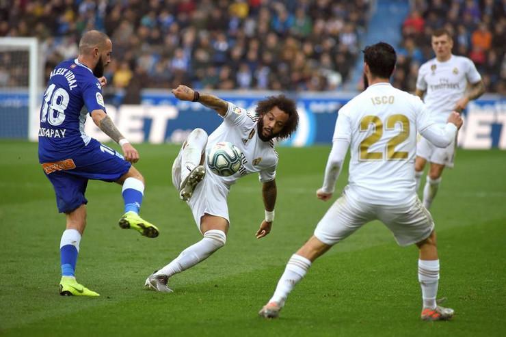 Detalj sa meča Alaves - Real Madrid