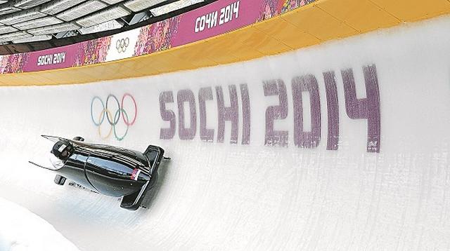 Naša posada na olimpijskom takmičenju u bobu u Sočiju 2014. godine