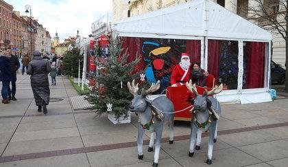 Warszawski namiot świąteczny, już otwarty!