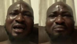 Funny Face breaks down in tears