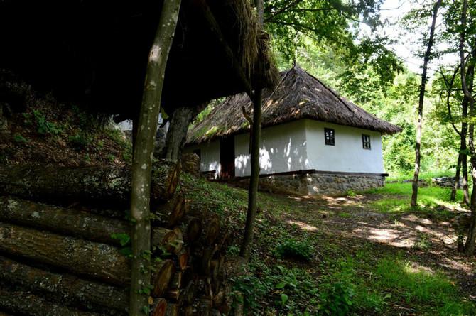 Rodna kuća Milunke Savić u selu Koprivnica kod Jošaničke Banje