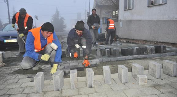 Radovi u Karađorđevoj ulici