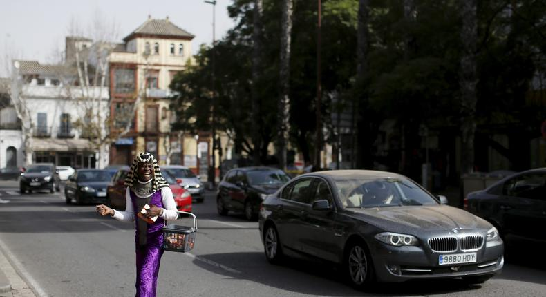 The Wider Image - Seville migrant war to law [REUTERS/Marcelo del Pozo]