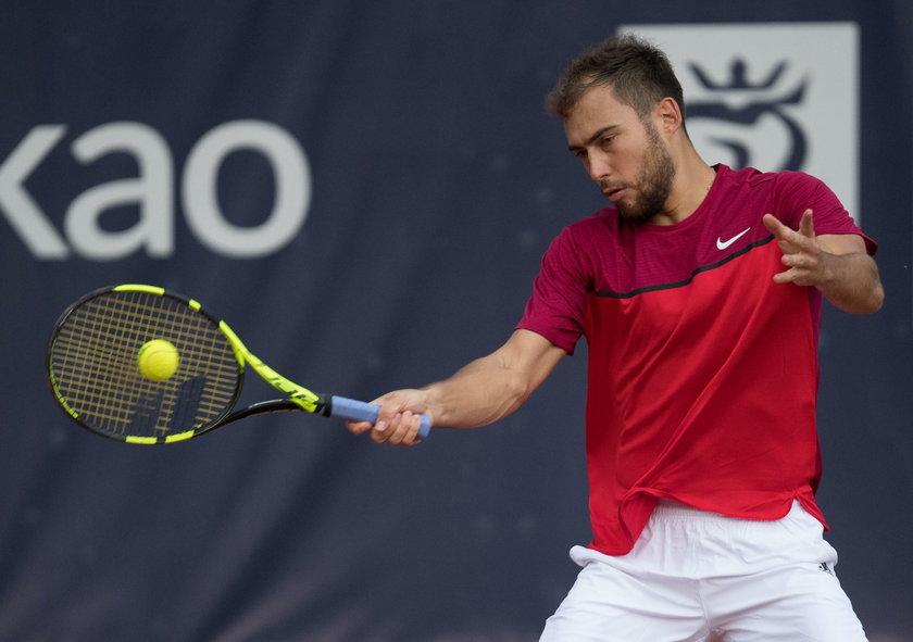 Jeden z najbardziej utalentowanych polskich tenisistów od lat zmaga się z kontuzjami