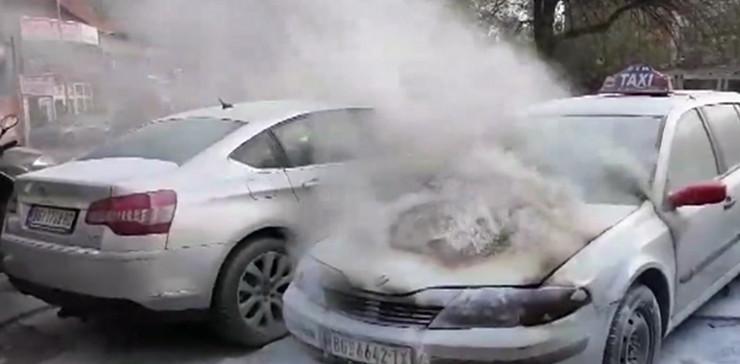 auto vatra, taksi, Kamenička i Gavrila Principa