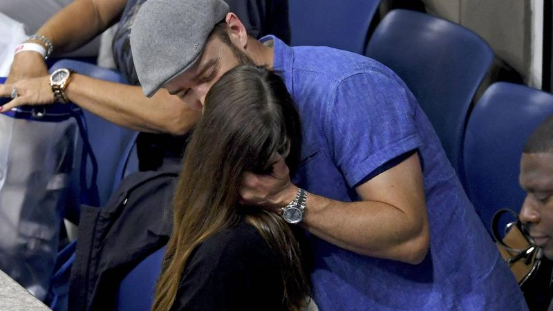 Justin Timberlake z żoną Jessicą Biel