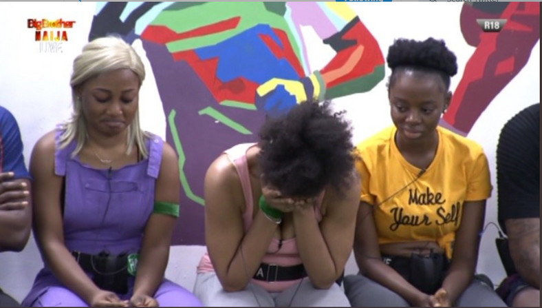 Esther escaped eviction list while Elozonam ignore Diane to save Venita and replace her with Frodd. [Twitter/BBNaija]