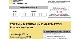 Matura 2021. Egzamin z matematyki: arkusze egzaminacyjne CKE