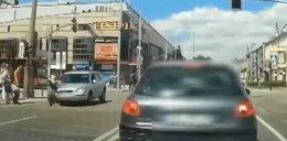 Wypadek w Częstochowie. Drastyczny film