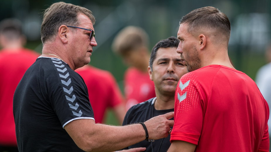 Jan Urban i Lukas Podolski