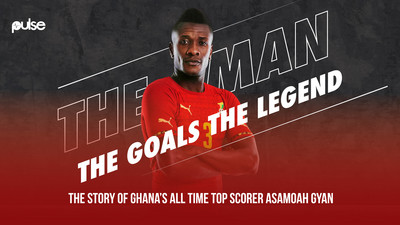 The journey of Asamoah Gyan, Ghana's football legend who inked his name in world history
