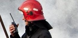 Robotnik uratował dziesięciolatka z pożaru