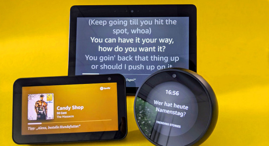 Smart-Display-Vergleichstest: Echo Show 5 vs Show vs Spot