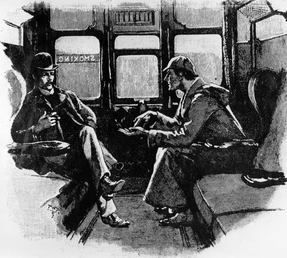 Šerlok ilustracija