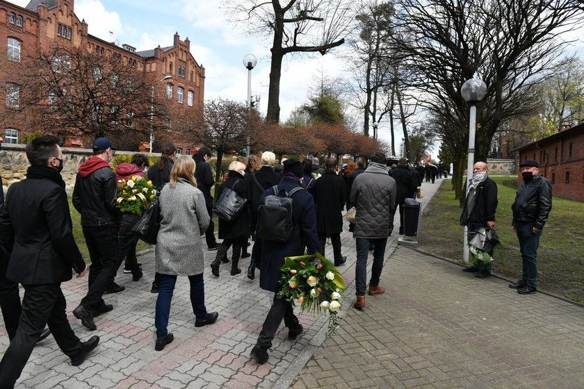 Pogrzeb Andrzeja Ruska w Katowicach