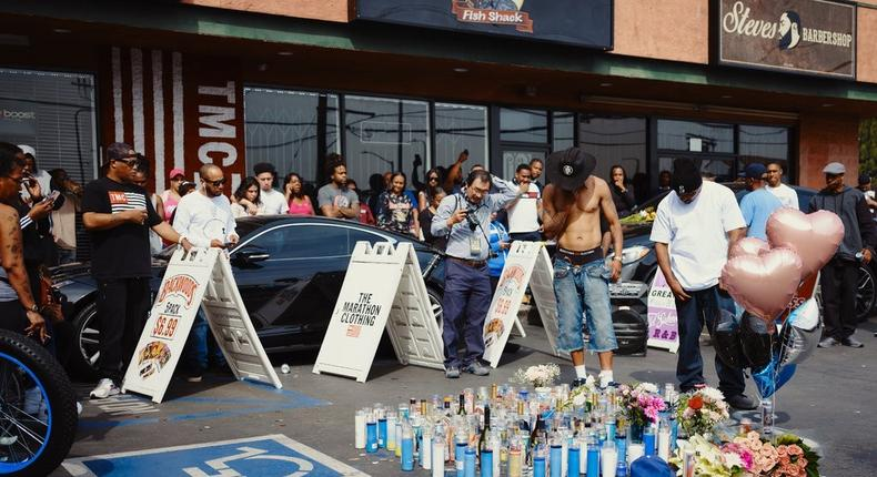 Suspect Arrested in Killing of Nipsey Hussle, Los Angeles Police Say (NYT)