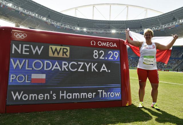 Anita Vlodarčik kao vlasnica novog svetskog rekorda