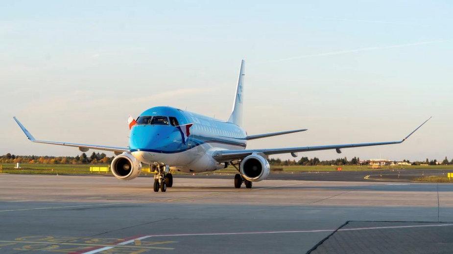 KLM w Poznaniu