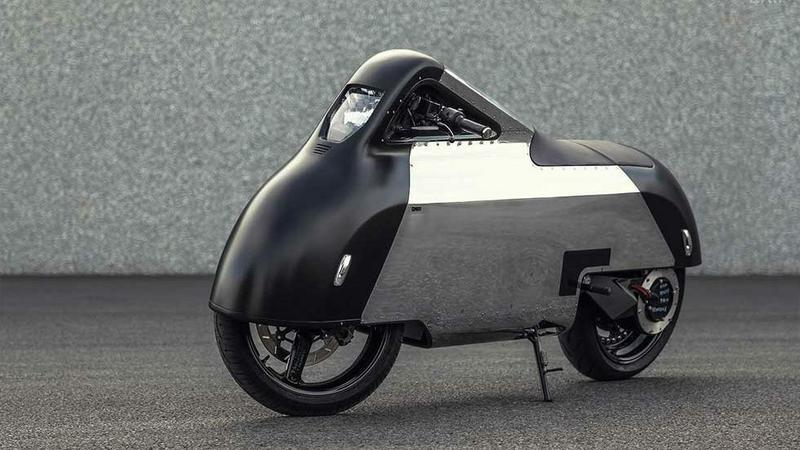 "Vectrix VX-1 ""Hope"" - futurystyczny motocykl elektryczny"