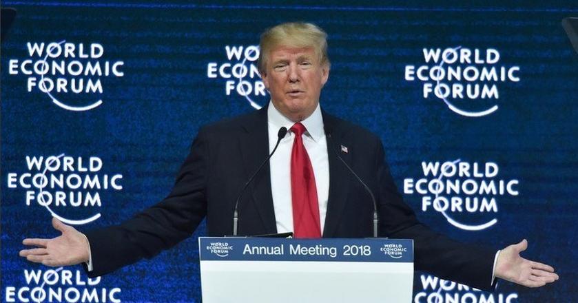Donald Trump odniósł się do ostatnich doniesień o wojnie handlowej