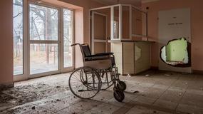 Opuszczony dom spokojnej starości w Przemkowie na Dolnym Śląsku