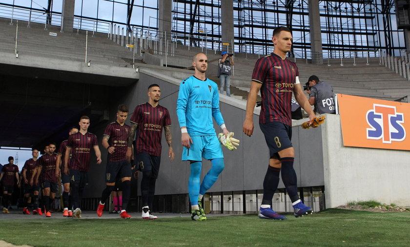 22.07.2021 POGON SZCZECIN - NK OSIJEK UEFA EUROPA CONFERENCE LEAGUE PILKA NOZNA