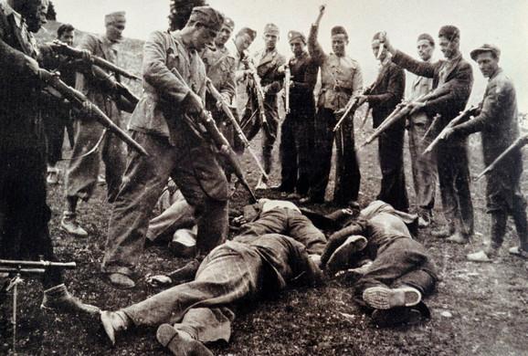Žrtve ustaša likvidirane 1945. na obali Save