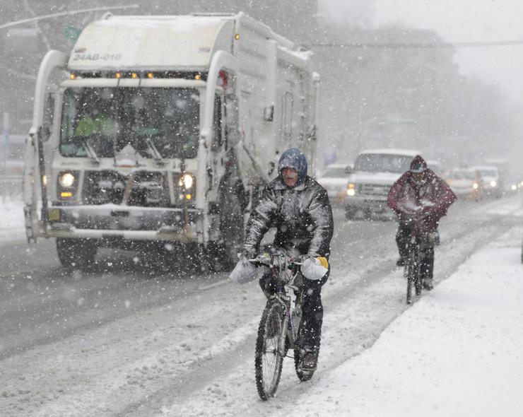 Sneg, SAD, nevreme, EPA - JASON SZENES