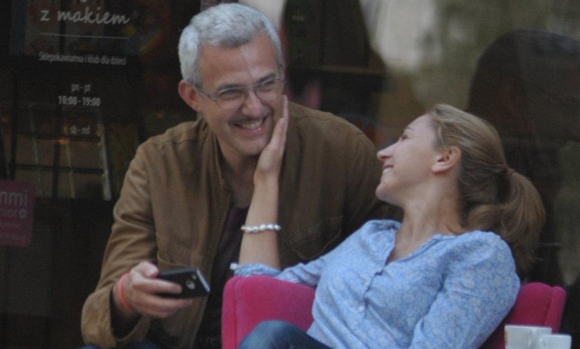 Hubert Urbański  z żoną