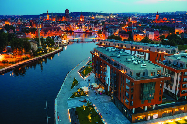 Brabank Apartamenty w Gdańsku zrealizowane przez Invest Komfort