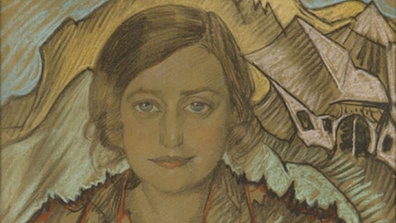 """""""Portret Zofii Krzeptowskiej"""" został w ubiegłym roku sprzedany podczas aukcji w DESA UNICUM za 169 750 złotych."""