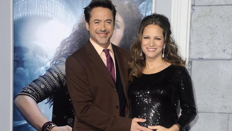 Robert Downey Jr. i jego żona Susan Downey