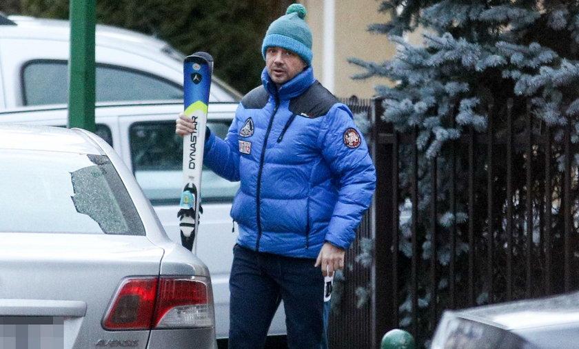 Trzaskowski jedzie na narty