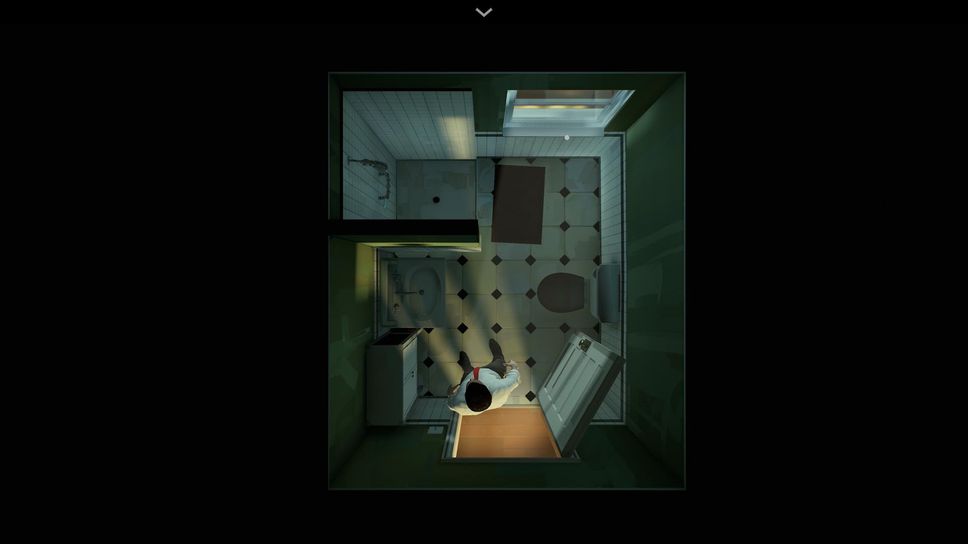 Hra so svetlom podčiarkovala atmosféru príbehu.
