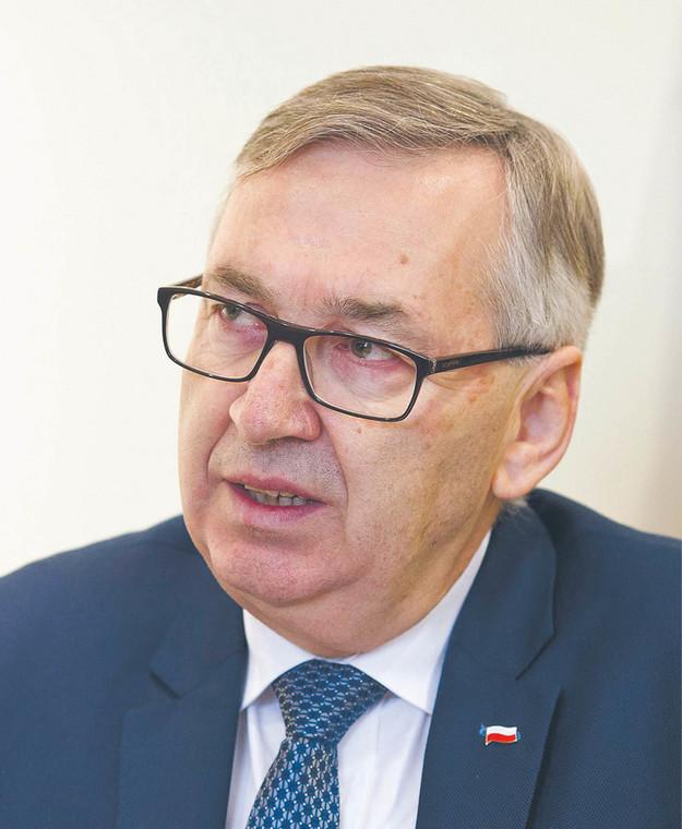 Stanisław Szwed, podsekretarz stanu MRPiPS  fot. Wojtek Górski