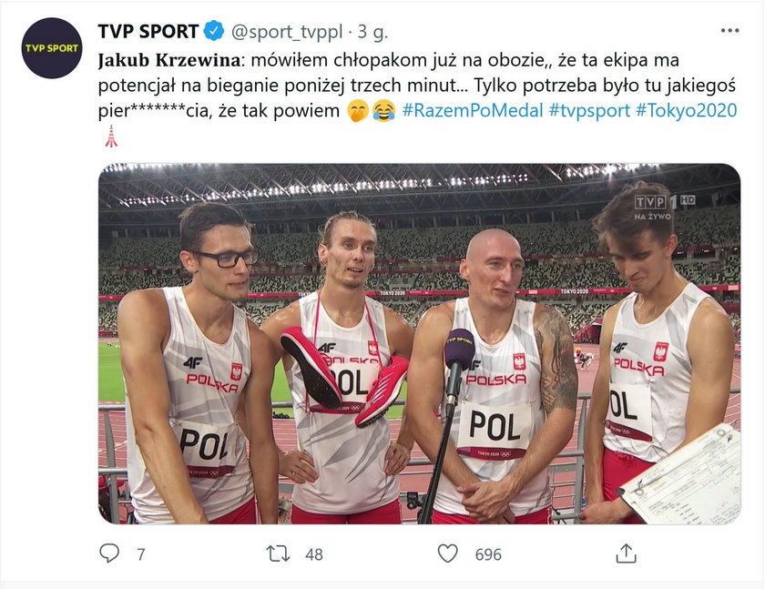 Polska sztafeta 4x400 awansowała do finału IO Tokio 2020