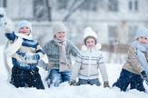 Deca, igra, igranje, sneg