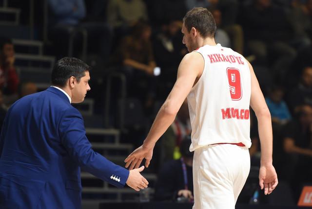 Trener Monaka Filipovski i Elmedin Kikanović