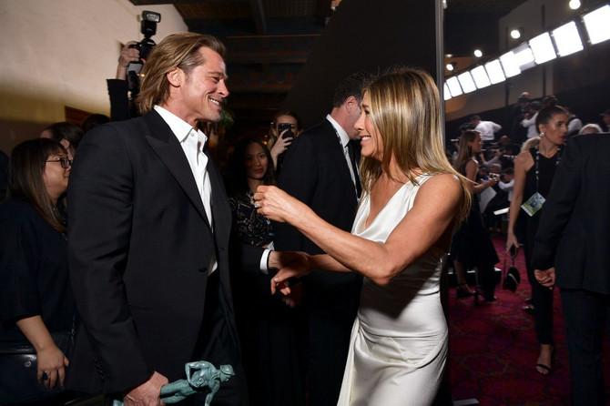 Bred Pit i Dženifr Aniston na dodeli SAG nagrada