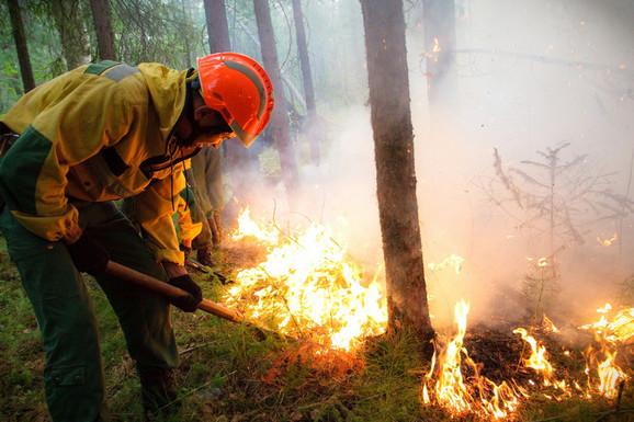 Sibir požar