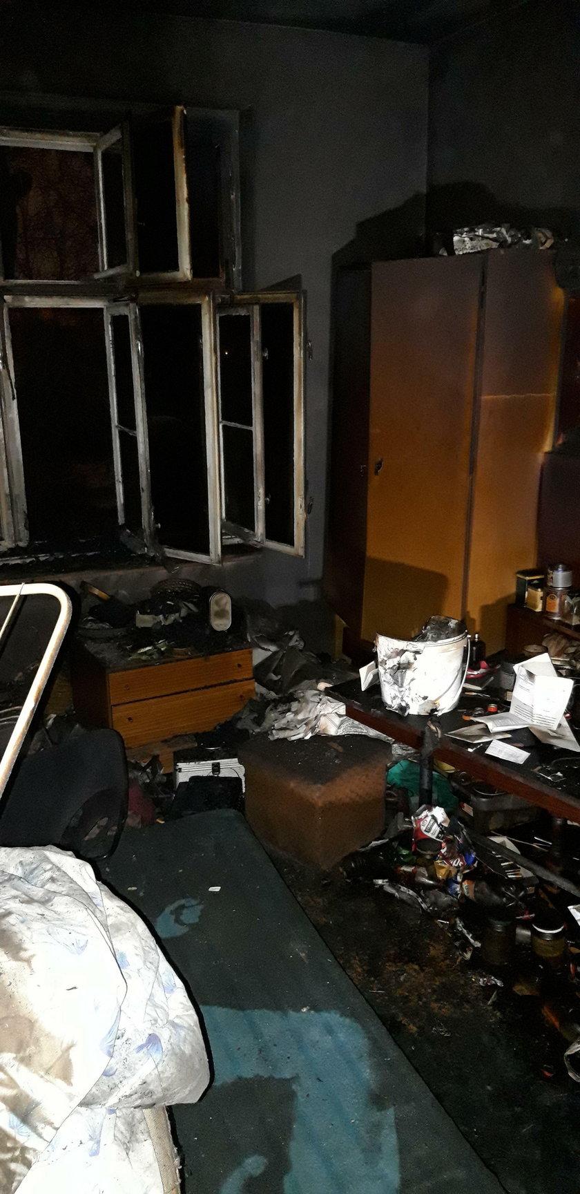 Tragiczny pożar we Wrocławiu. Nie żyją 4 osoby