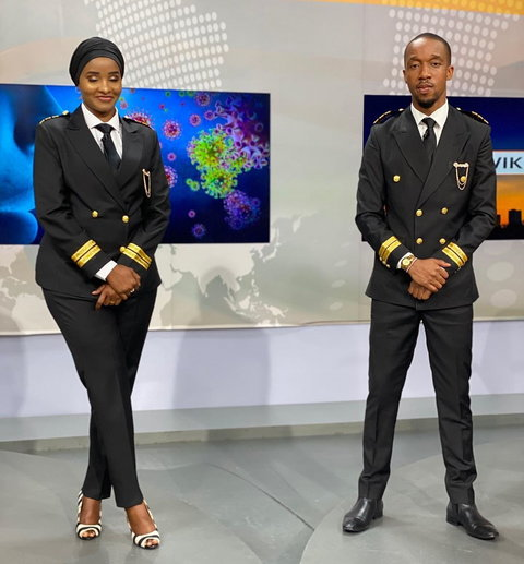 Why Citizen TV's Lulu Hassan and Rashid Abdalla were dressed in ...