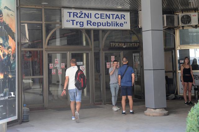 """Zvaničan naziv TC """"Trg republike"""""""
