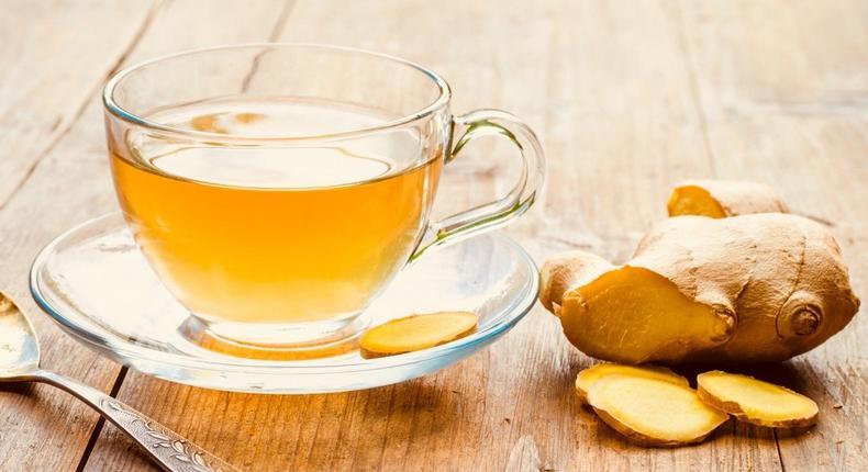 Ginger tea (Courtesy)